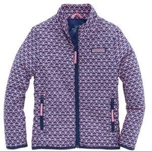 NWT Vineyard Vines Girls Whale Tail Jacket